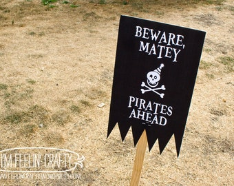 Pirate Party Welcome Sign- Printable