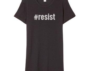 Resist Shirt Women's | Anti Trump Shirt | Resistance Shirt | Protest Shirt | Anti Trump | Dump Trump | Anti-Trump | Feminist Shirt