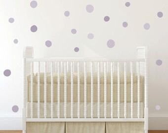 Polka dot wall decal, Baby Nursery Wall Decals, Polka dot, Baby Nursery Murals, Kids Wall Decal, Modern Nursery Wall Decal, modern nursery