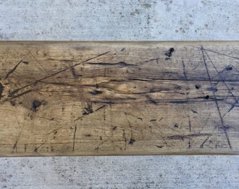 Custom Reclaimed Wood Swing - Solid Maple - Fall Decor - Tree Swing - Porch Swing - Indoor Swing - Outdoor Swing **READY TO SHIP**