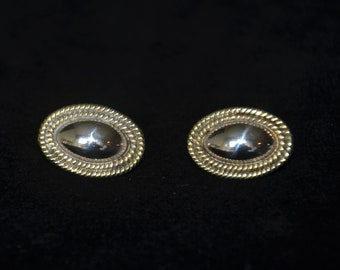 Vintage Taxco Sterling Silver Earrings