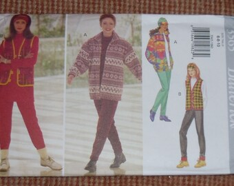 Butterick Pattern #3565 Sizes 6-8-10 Uncut and Unused