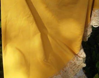 Tablecloth Golden Tablecloth Cluny Lace Shabby chic Boho Boho Gypsy Hippie Home Decor Dining Table Linens