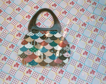 Colorful Quilted Handbag