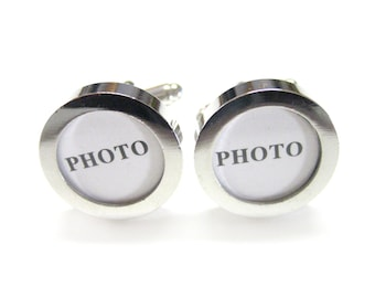 Customizable Photo DIY Cufflinks (1 Pair)