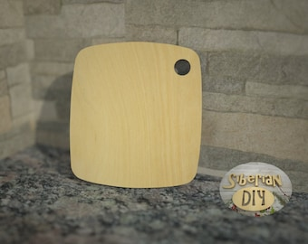 "Workpiece of wood for decoupage ""Cutting Board for kitchen [1]"""