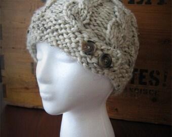 Cable knit hat- CHOOSE YOUR COLOR