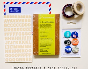 Travel Booklets and Mini Travel Kit