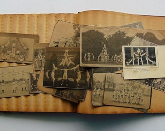 Antique Tumbling Scrapbook 1911