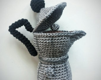 Amigurumi Coffee Maker - Italian Moka -