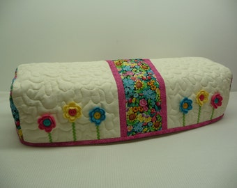 Mary's Flower Box - Quilted Cricut Explore Cozy - Explore Cozy - Explore Dust Cover