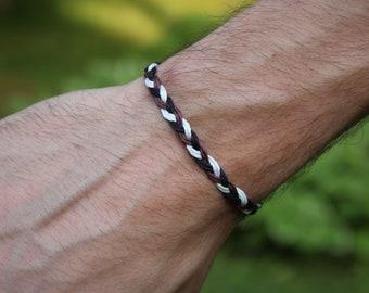 Mens bracelet, male bracelet, men's bracelet, boy bracelet, braided bracelet, hemp bracelet