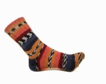 Wool socks Hand knit socks Warm socks Women socks Winter socks Christmas gift Boot socks Womens Socks Handmade socks Knitted socks Handknit
