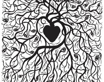 Heart Sees - Fine Art Print