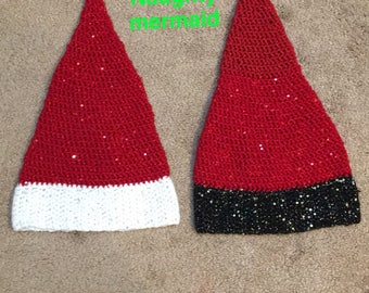 Mermaid Santa Hats