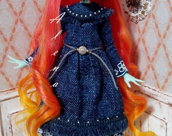 OOAK doll Monster High Frankie Stein