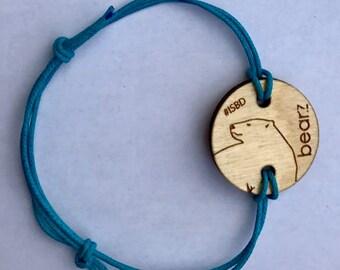Bearz 2016 polar bear bracelet