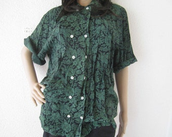 Vintage 80s costume blouse Blouse Gössl Salzburg S-l