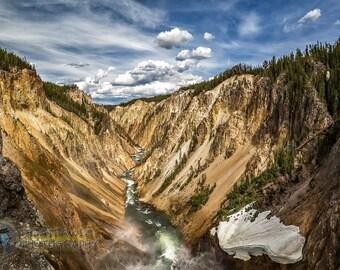 Grand Canyon of Yellowstone Fine Art Photographic Print