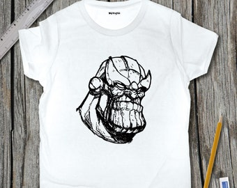 Thanos Sketch T-Shirt | SketchTee
