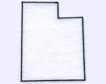 Utah State Tea Towel   Embroidered Tea Towel   Embroidered Towel   Personalized Towel   Embroidered Kitchen Towel   Utah Souvenir  Utah Gift