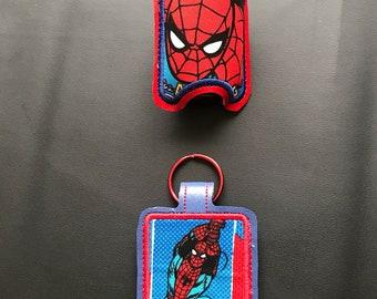 Superhero Spider Hand Sanitizer Holder