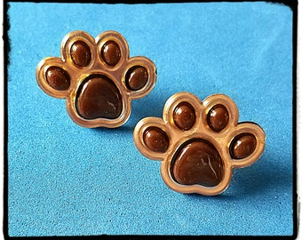 Tube Trinkets:  Dog Paws!  Please select quantity 2 for a pair!