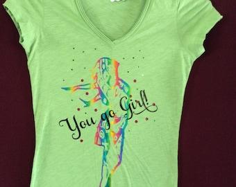 Ladies Tee Shirt SIZE SMALL