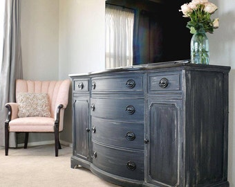 Graphite Collection  Buffet, Dresser, Painted Furniture Denver And Colorado  Springs, Refinished Furniture, Rustic, Shabby Chic, Farmhouse