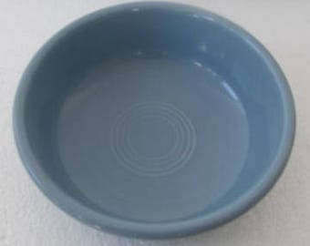 """Fiesta-Periwinkle Blue Chowder Round Bowl 5 7/8"""" by Homer Laughlin"""