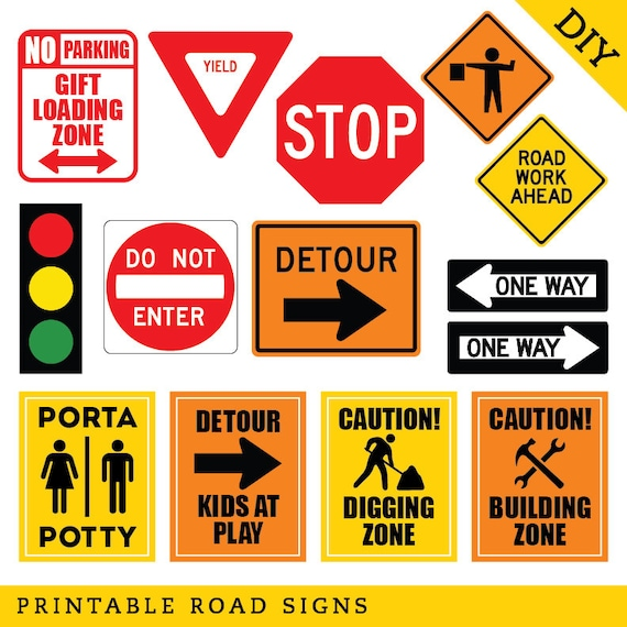 Amazing image intended for printable traffic sign