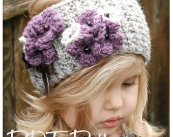 Knitting PATTERN-The Indiya Warmer (Toddler, Child, and Adult sizes)