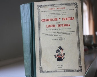 Construccion Y Escritura 1948 Book