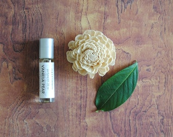 Vanilla Pear Perfume Oil, Roll On Scent Sweet Fruity Fragrance Essential Oil