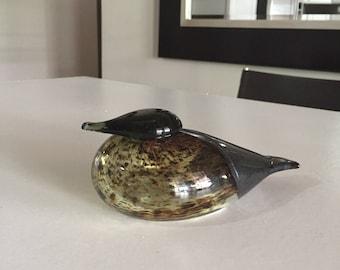 Oiva Toikka Nuutajärvi Art Glass Bird/Mid Century Scandinavian/Iittala Toikka Scandinavian/By Gatormom13