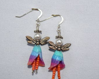 Polymer Clay Pixie Earrings