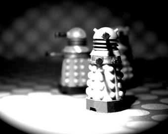 EXTERMINATE! EXTERMINATE! EXTERMINATE! - Dalek - Photograph - Various Sizes