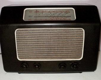 Vintage 1947 Marconi Tube Valve Radio model T10A
