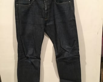 APC raw denim