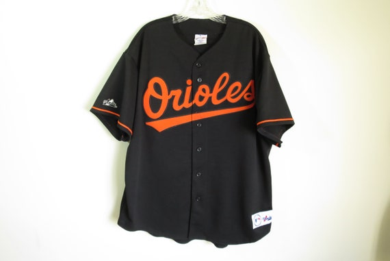 Vintage BALTIMORE ORIOLES shirt starter tag baseball athletic sports Size L riADT7fD