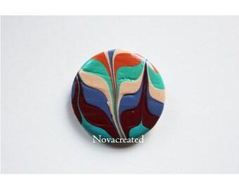 Urban - Hand Painted Pin