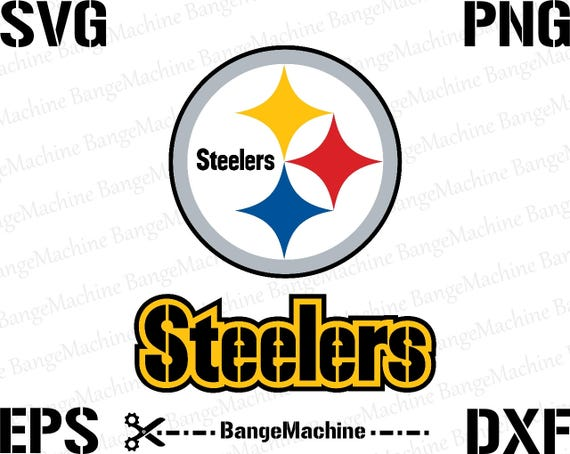 pittsburgh steelers logo in svg eps dxf png rh etsy com pittsburgh steelers logo images