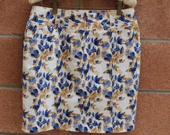 SHORT SKIRT // floral // printed skirt