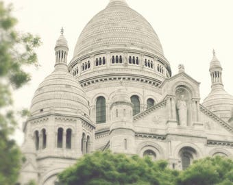Paris photography, canvas art, paris wall art, large art, Paris canvas, Paris print, canvas wall art, Paris photos, Sacre Coeur, wall