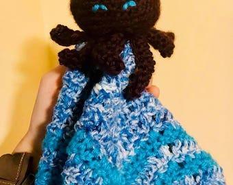 Octopus Baby Security Blanket