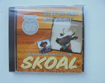 SKOAL contemporary country music selection CD 1998 sealed/new