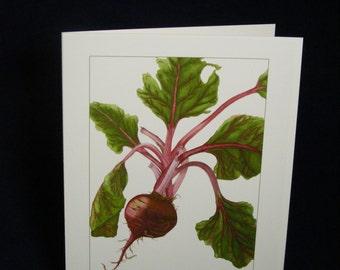 BEET Botanical Card