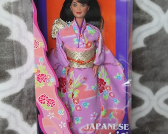 1995 Barbie Dolls of the World Japan # 14163