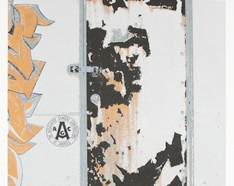 Urban decay graffiti print-screen printed, limited edition