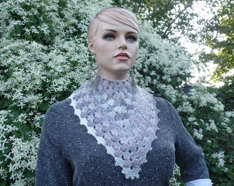 Easy Crochet Lacy Shell Cowl Pattern DIGITAL DOWNLOAD ONLY